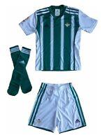 adidas Betis H Kinder Mini Kit Set Fussball Set 3 Teilig NEU