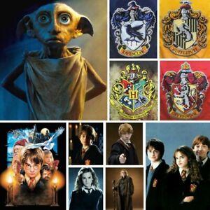 5D Full Drill Diamond Painting Cross Stitch Kits Harry Potter Home Decor Gifts