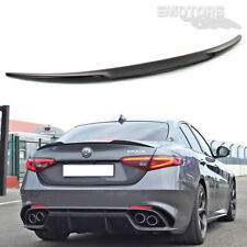 Painted Alfa Romeo Giulia 952 Sedan QV Style Rear Boot Trunk Spoiler Wing 17 19