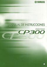 neu yamaha cp300 stagepiano bedienungsanleitung spanisch bedienungsanleitung unterlagen