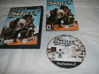 NFL Street PS2 (Sony PlayStation 2, 2004) Black Label Video Game CIB Complete