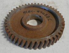 Hercules Industrial Engine camshaft timing gear OEM # 47058C for QXLD models