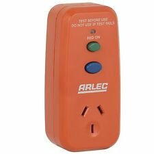 Arlec SINGLE OUTLET SAFETY SWITCH Protection Against Electrocution *Aust Brand