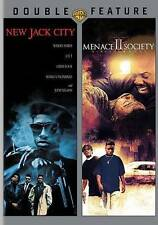New Jack City/Menace II Society (DVD, 2016, 2-Disc Set) Double Feature