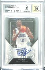 2004-05 Upper Deck Ultimate Collection Rookie Autograph #127 Dwight Howard BGS 9
