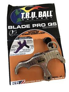 Tru Ball Archery Thumb Release Blade Quicksilver Pro 3 Finger L Light Use