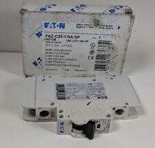 Eaton FAZ-C25/1-NA-SP Circuit Breaker 25A 1-Pole 277V