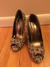 High Heel Peep Toe Shoes . Size 6/5
