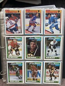1991-92 OPC Book of Hockey, Complete