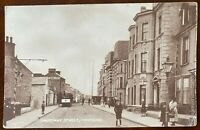 Causeway Street Portrush Postcard Co Antrim Northern Ireland Tram Shops People