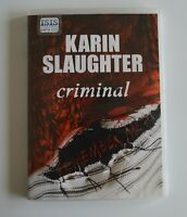 Criminal - by Karin Slaughter - MP3CD - Audiobook