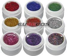 Free Color Choice Colaxy Premium Glimmer UV Gel Glitter Colours 0.2oz