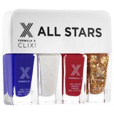 Kit Vernis à Ongles All Stars de Formula X, 4 x 3 ml, neuf