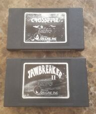 Crossfire and Jawbreaker 2 sierra on-line 1982