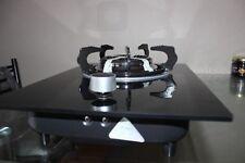 Brand new Single burner glass panel LPG stove or cook top + 2 m hose & regulator