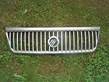 2002 03 04 05 Mountaineer Front upper Grille Silver painted.