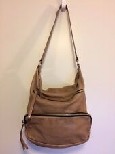Tan Witchery Leather Shoulder Bag