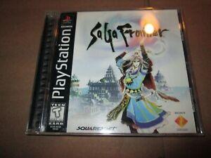 SaGa Frontier (Sony PlayStation 1, 1998) BLACK LABEL COMPLETE