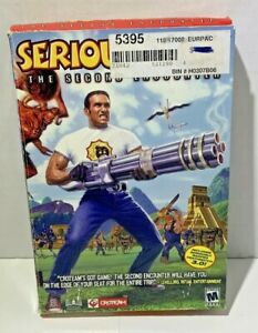 SEALED Serious Sam: The Second Encounter  PC CD-ROM shooter game 2002 VINTAGE