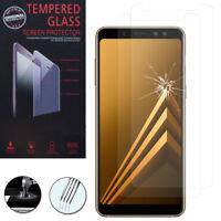 """2 Films Verre Trempe Protecteur pour Samsung Galaxy A8 (2018) A530F 5.6"""""""