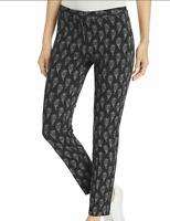 LE GALI New Women's 6 Black & White Print Pointe S Stretch Pants $119 NWT