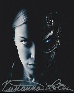 "SALE! Kristanna Loken In Person signed 10"" x 8"" photograph - Terminator 3 - Q055"