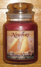 Yankee Candle - NEWPORT BELLEVUE SEABERRY - 22 oz - RARE AND HARD TO FIND!!