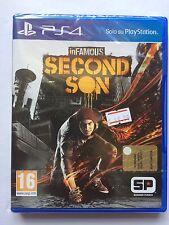 inFAMOUS Second Son - NUOVO SIGILLATO - PS4 - VERSIONE ITA
