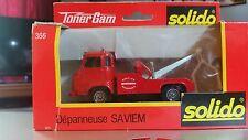 Solido Toner Gam Depanneuse Saviem SG4 Fire Tow Truck Wreaker,1:50, Die-cast NIB