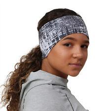 TrailHeads Women's Print Ponytail Headband - grey matrix