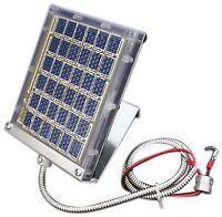 NEW Boss Buck Drum Mount Solar Panel Black 12 volt FREE SHIPPING
