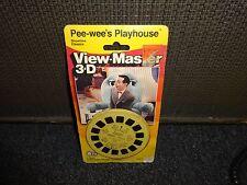 Pee wee's Playhouse  1987  sealed  View Master Pack Reels  MOC