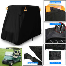 2 Seater Golf Cart Cover Buggy Rain Waterproof Sunproof For EZGO/Club Car/Yamaha