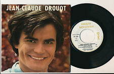 "JEAN-CLAUDE DROUOT EP 7"" CHANSON POUR BARBARA DE MOULOUDJI"