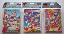Lot of 3 Packs Child's Kids Birthday Party Invitations 24 Total Cards 3 Designs