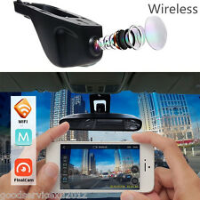 12V 160° Wide Angle HD 1080P  Car DVR Camera Hidden Wifi Dash Cam Tachograph Kit