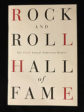 LED ZEPPELIN-NEIL YOUNG-GREG ALLMAN BROTHERS BAND '95 Rock HALL OF FAME PROGRAM