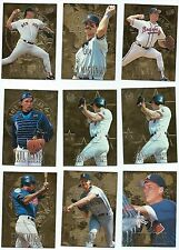 1996 ULTRA Gold Medallion Edition Baseball  157 Card LOT