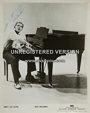"Jerry Lee Lewis 10"" x 8"" Photograph no 63"