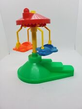 Vintage Fisher-Price Little Chunky People Carnival Airplane Ride.