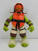 "TMNT Samurai Michelangelo 10"" Large Articulated Action Figure Playmates"