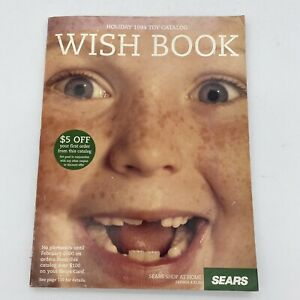 1999 Sears Wish Book Christmas Toy Catalog - Freckled Smile Cover