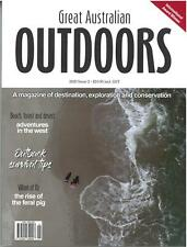 Great Australian Outdoors Magazine Issue 1 2019 PREMIERE EDITION