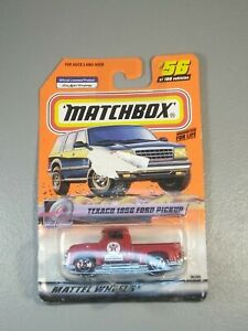 Matchbox Speedy Delivery Series Texaco 1956 Ford Pickup #56 New Factory Sealed