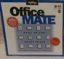 Office Mate PC MAC CD 400+ business personal productivity templates finance plan