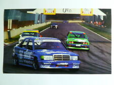 1989 Mercedes Touring Cup Coupe Race Car Picture / Print / Poster RARE! L@@K