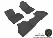 Fits 2011-2018 Bmw X3 X4 Row 1 2 KAGU Carbon Pattern Black Customize Floor Mat