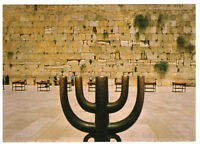 Jerusalem: Western Wall (Wailing Wall), Israel, Palestine Rare Picture Postcard
