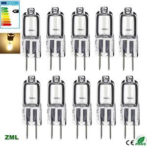 10PCS 20PCS G4 Halogen bulb 5W/10W/20W DC/AC 12V Warm White SES filament lamp