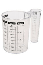 Kitchen Measuring Jug, Double Sided 1L Measuring Cup